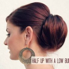 Bridal hairstyles buns 16