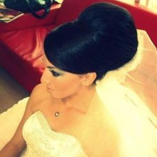 Bridal hairstyles buns 17