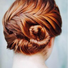 Bridal hairstyles buns 18
