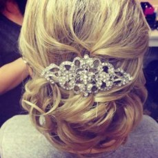 Bridal hairstyles buns 20