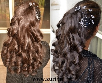 Indian bridal hairstyles 06