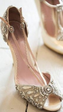 vintage bridal shoes 06