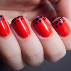 Simple nail art designs 28