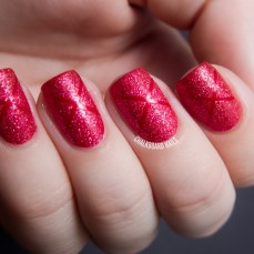Simple nail art designs 32