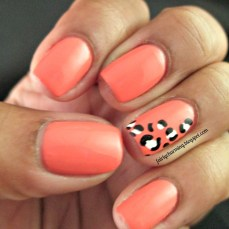 Simple nail art designs 38