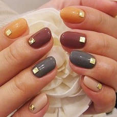 Simple nail art designs 40