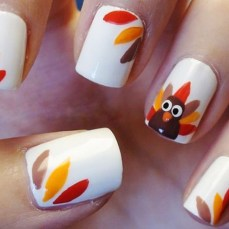 Simple nail art designs 42