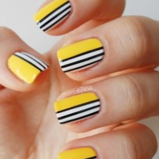 Simple nail art designs 50