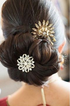Indian bridal hairstyles 24