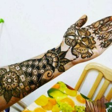 latest mehandi designs 2014 02