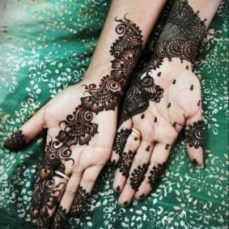 latest mehandi designs 2014 07
