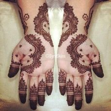 latest mehandi designs 2014 44