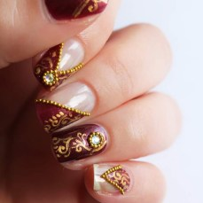 nail art designs to wear on navratri 03