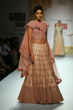 Bridal Lehengas Fall Winter 2014 02