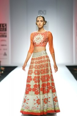 Bridal Lehengas Fall Winter 2014 07