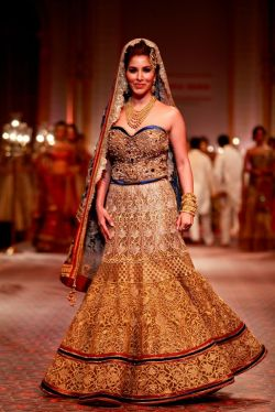 Bridal Lehengas Fall Winter 2014 08
