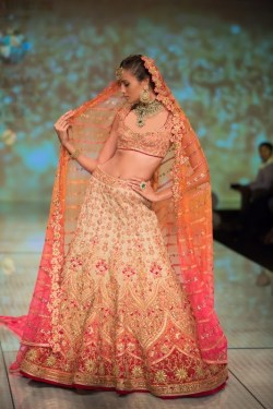 Bridal Lehengas Fall Winter 2014 09