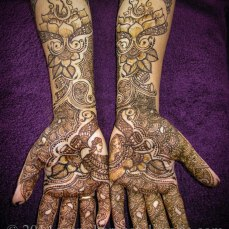 Mehndi design by Karuna 23