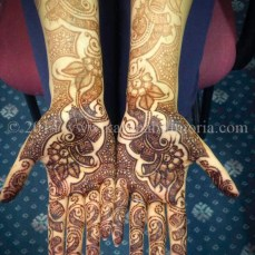 Mehndi design by Karuna 24