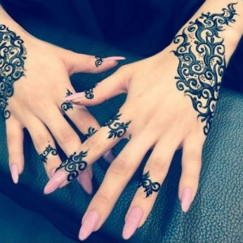 Arabic mehndi designs for bride relatives 05