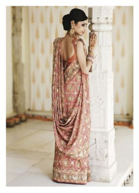 Designer sarees for Bengali bride 09