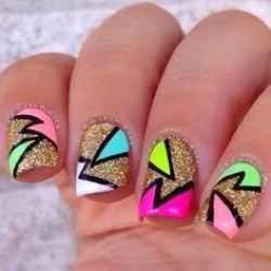 Latest nail art designs 02