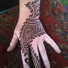 mehndi design for the summer bride 06