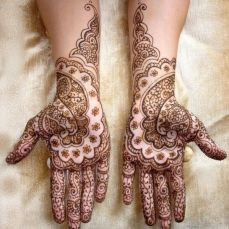 mehndi design for the summer bride 30
