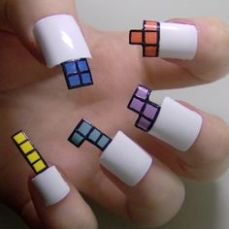 Nail art designs inspired by games 12