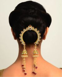 Wedding hairstyles for Indian wedding 03