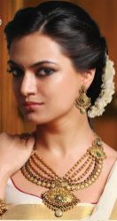 Wedding hairstyles for Indian wedding 05