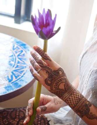Mehndi Designs Inspired by Indian summer 02