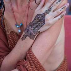 Mehndi Designs Inspired by Indian summer 04