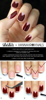 Nail art designs step by step 07