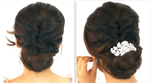 Indian wedding hairstyles 11