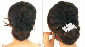 Indian bridal hairstyles 123