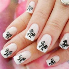 French nail art 11