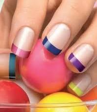 French nail art 17