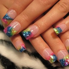 French nail art 18