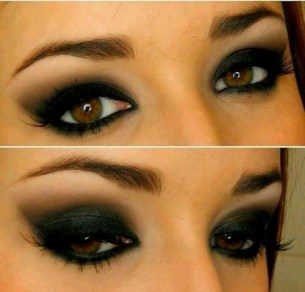 How to do smokey eye 01