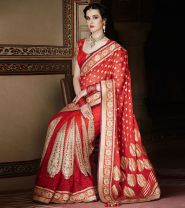 Designer saree trends 12
