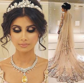 Indian bridal hairstyles 146