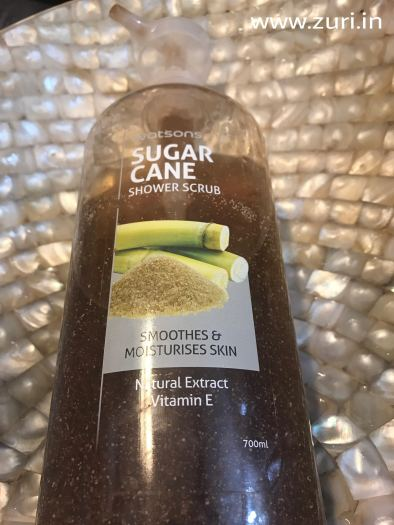 Watsons Sugarcane Shower Scrub 01