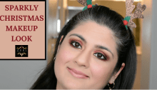 Sparkly Christmas Makeup Tutorial 25