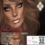 Hollie Mesh Head Vendor Bronze