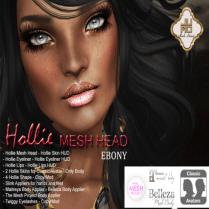 Hollie Mesh Head Vendor Ebony