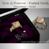 Steals & Deals -60% Sale-Now & Forever Ametrine Ring - Gold
