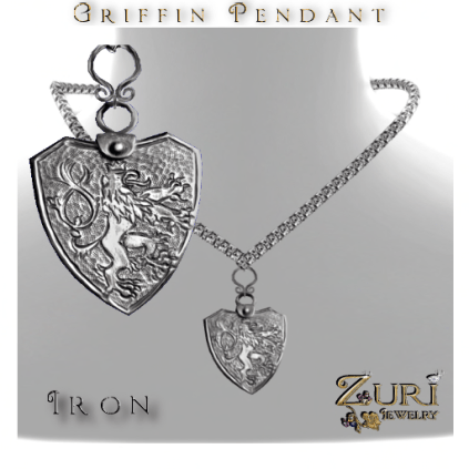 Griffin Pendant Iron