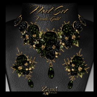 Noel Set-Verde Gold
