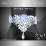 Zuri Rayna - Orchid Bracelet - Lavender Opal-Sterling (R)PIC
